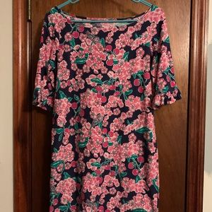"Lilly Pulitzer ""Cherry Picker"" dress."
